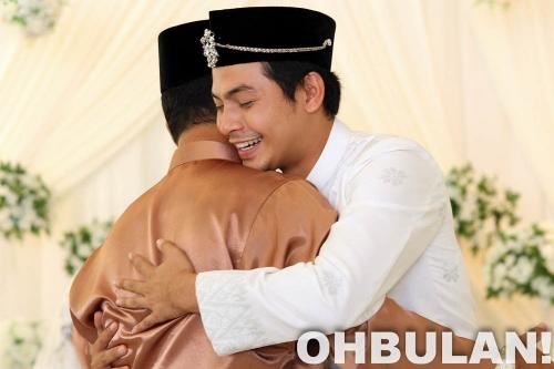 Gambar perkahwinan Izzue Islam dan Awin Nurin (39 Photo)