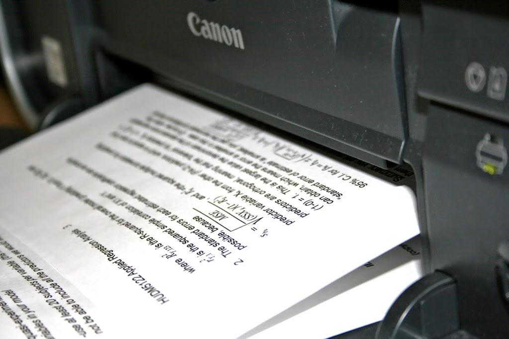 impresora canon de inyección de tinta