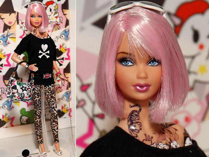 Barbie coloring pages for kids About Barbie Barbie doll's full name is Barbara Millicent Roberts, she is from...