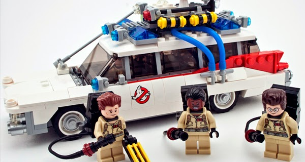 Ecto-1 Lego Ghostbusters