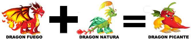 como sacar al dragon picante en dragon city