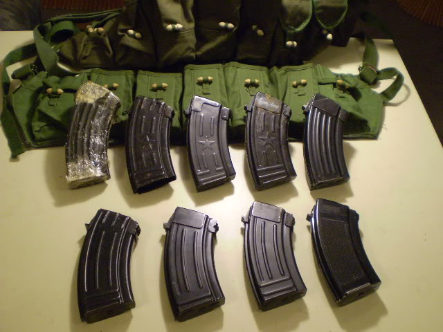 8 different 20 Round Mags