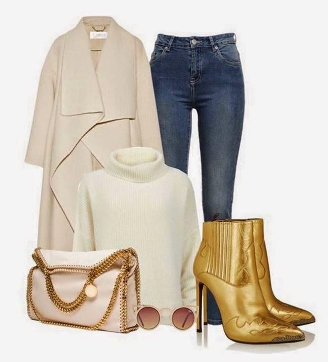 Blue Jeans Ladies Outfits Ideas...