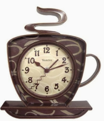 Westclox Coffee Mug Quartz Wall Clock