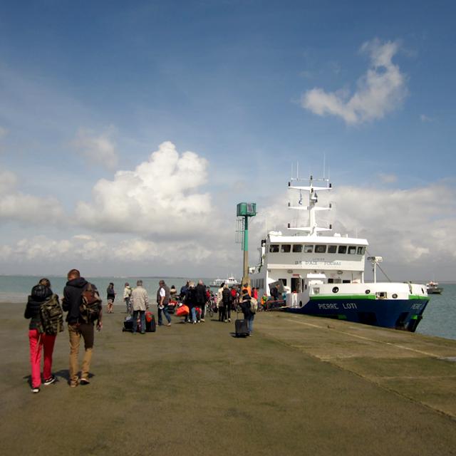 le ferry pour l'Ile d'Aix - http://spicerabbits.blogspot.fr/