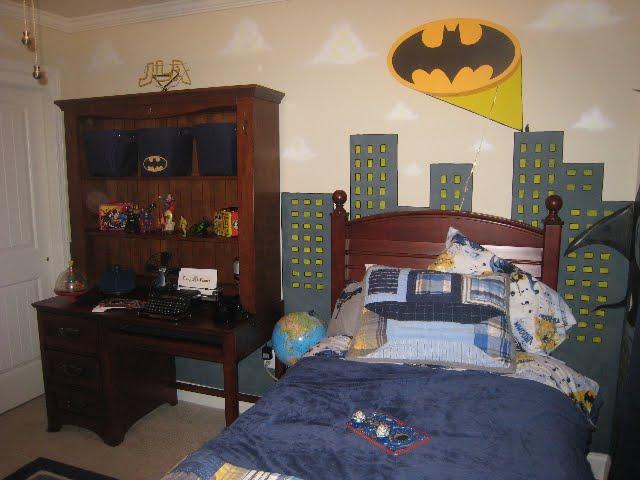 Justice League Bedroom Hessel Design