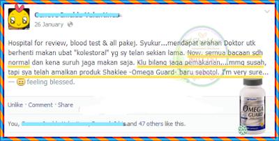 Omega Guard Untuk Kolestrol