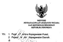 Muncul Surat Edaran palsu tentang Kelulusan Peserta Tenaga Honorer K2 2015