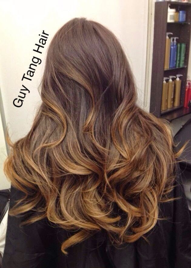 Balayage For Dark Or Brunette Hair Here Are Great Ideas