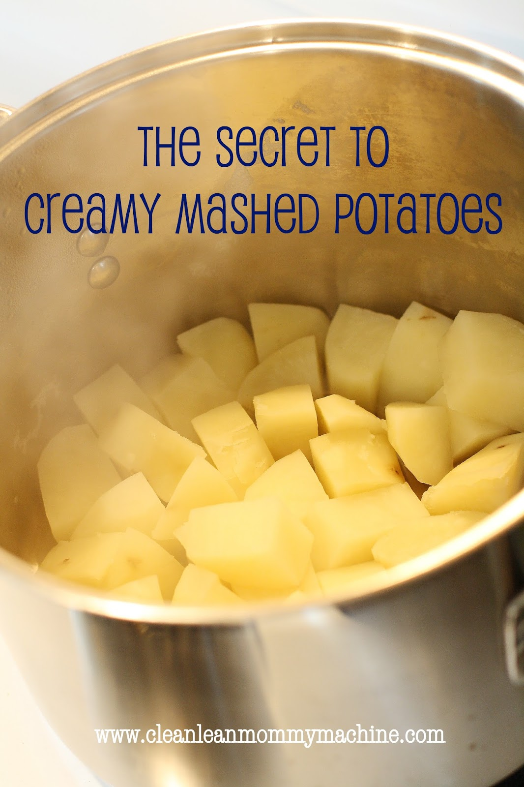 Clean Lean Mommy Machine: Tip for Tuesday: Perfect Mashed Potatoes