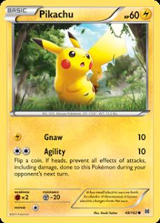 Pikachu BREAKthrough Pokemon Card Review