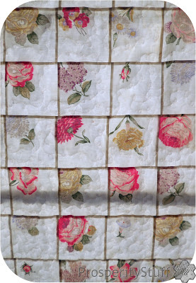 ProsperityStuff Window Quilt with sunshine