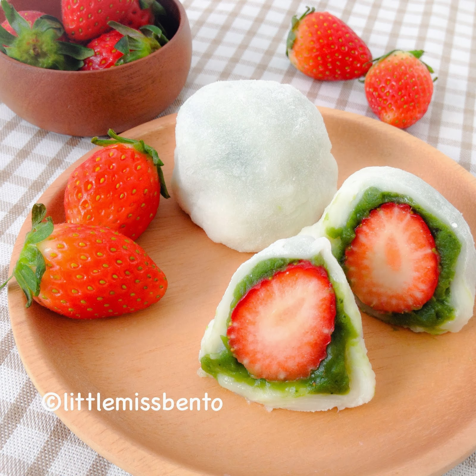 Strawberry Daifuku is a well known popular Japanese mochi sweet. Where ...