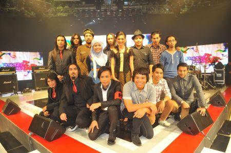 Gambar Finalis Anugerah Juara Lagu Ke 26