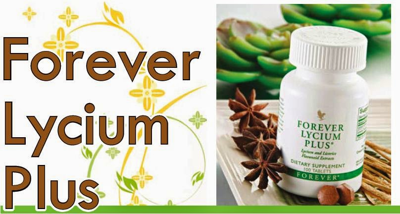 Công dụng Forever Lycium Plus cam thảo, kỳ tử