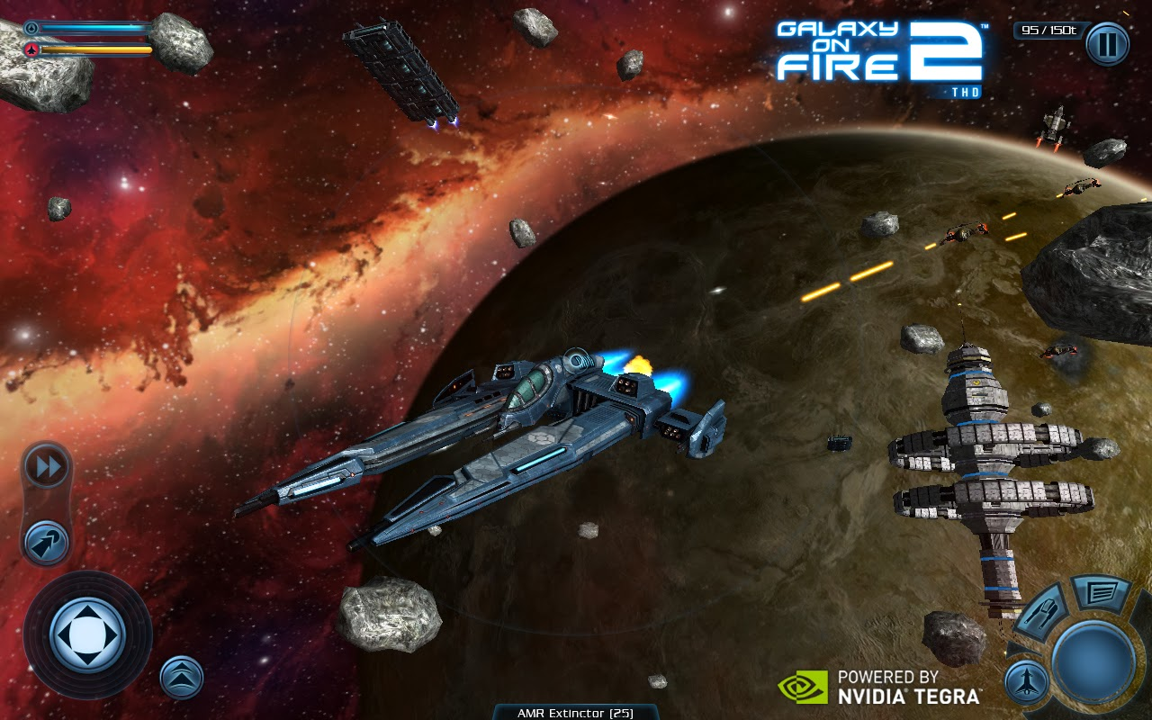 Jeux Galaxy on Fire 2 HD Android