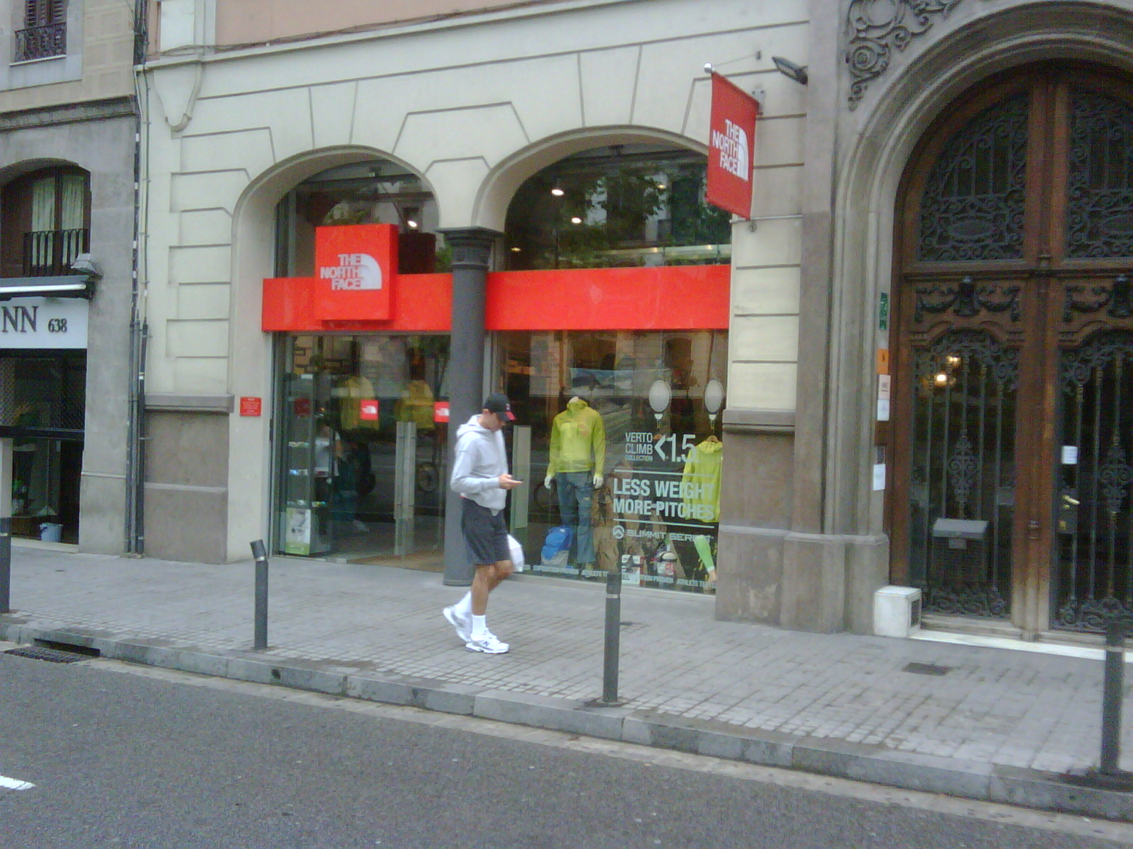 the north face tienda en barcelona
