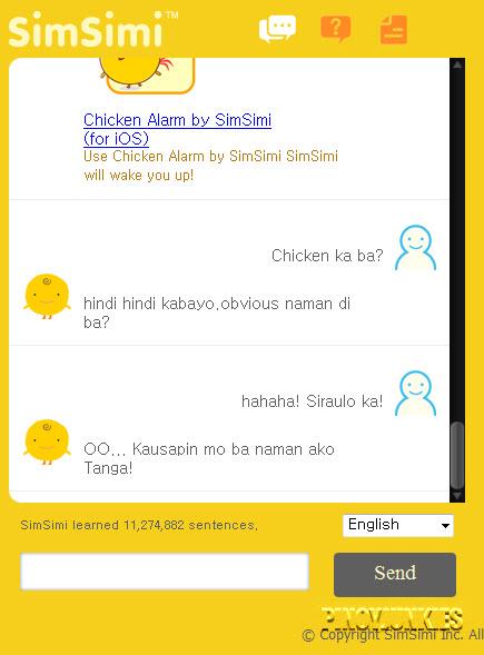 simsimi chat philippines