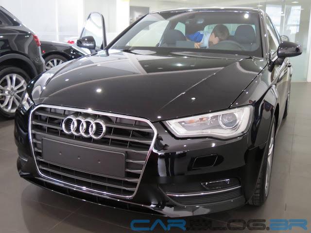 Audi A3 2014 - líder entre os compactos premium