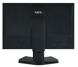 NEC MultiSync PA271W LCD P-IPS monitor Back