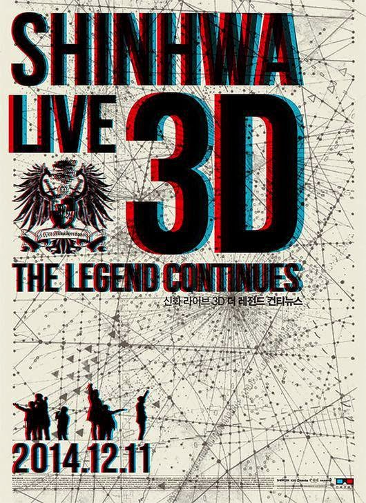 'SHINHWA LIVE 3D THE LEGEND CONTINUES' to be shown in theaters