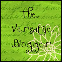 The Versatile Blogger Award!!!