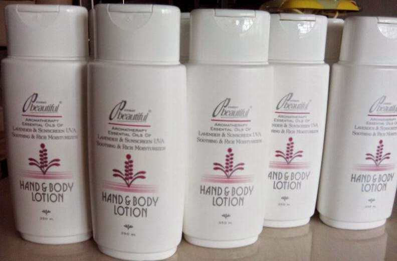 PB HAND & BODY LOTION