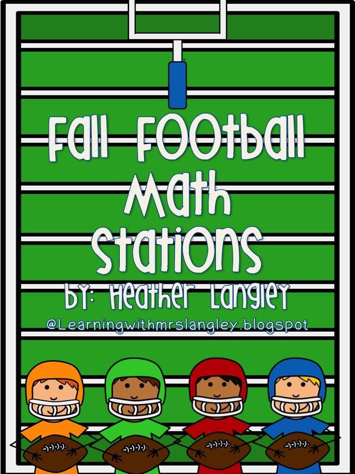 http://www.teacherspayteachers.com/Product/Fall-Football-Common-Core-Math-Stations-1st-Grade-762602