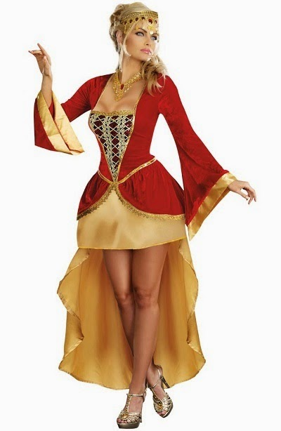 Sexy Royally Yours Costume for Halloween