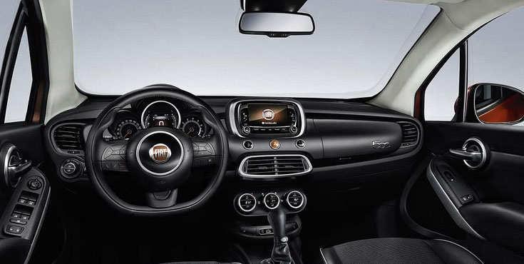 Interior FIAT 500X 2015 Terbaru
