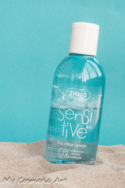 Agua micelar Sensitive de Ziaja.