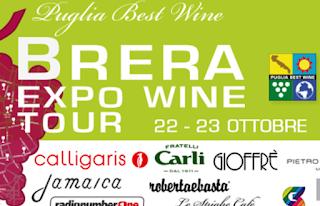 Brera Expo Wine Tour dal 22 al 23 ottobre Milano (Brera)