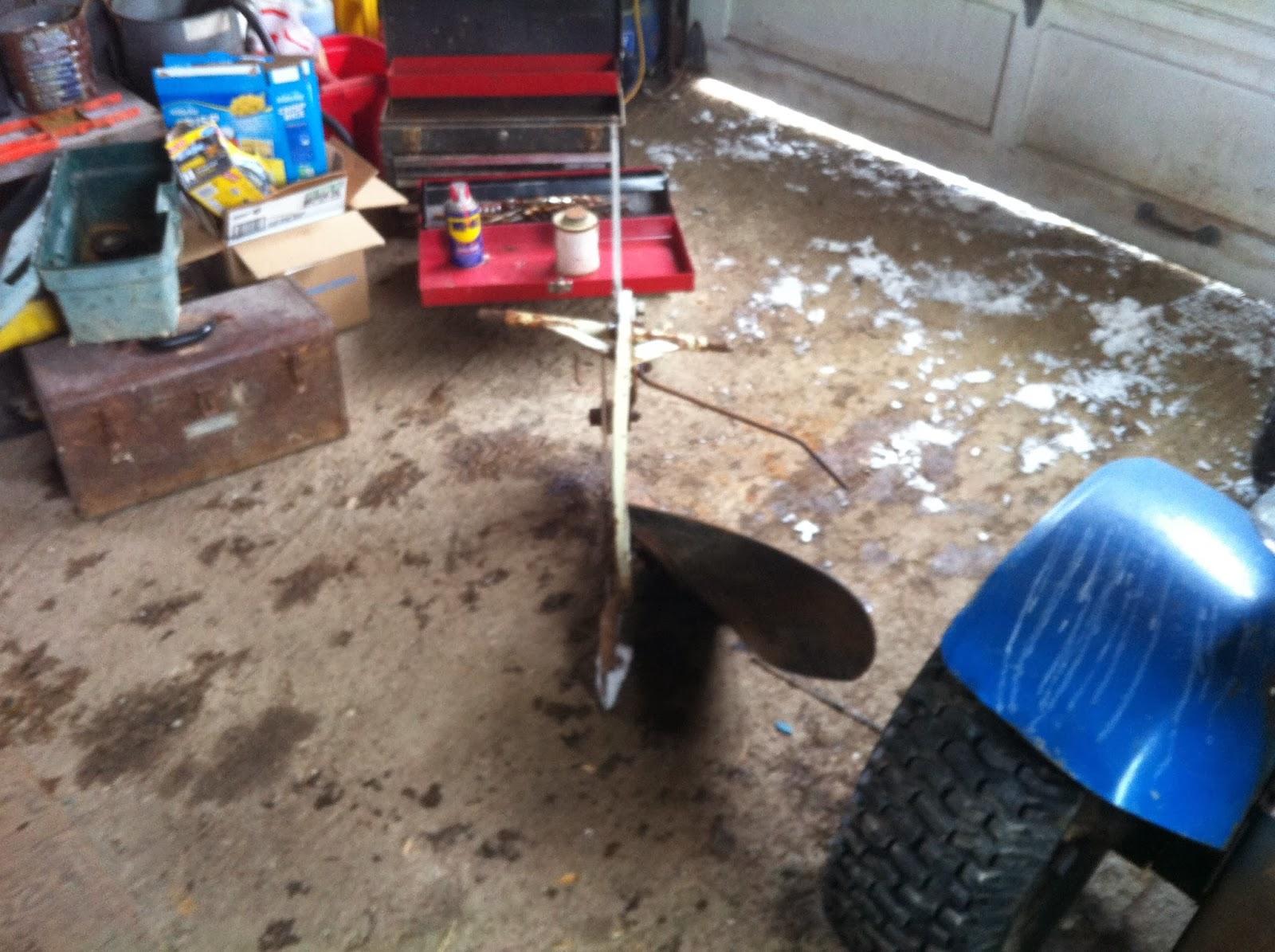 Garden Tractor Bottom Plow : Scored a garden plow mytractorforum the