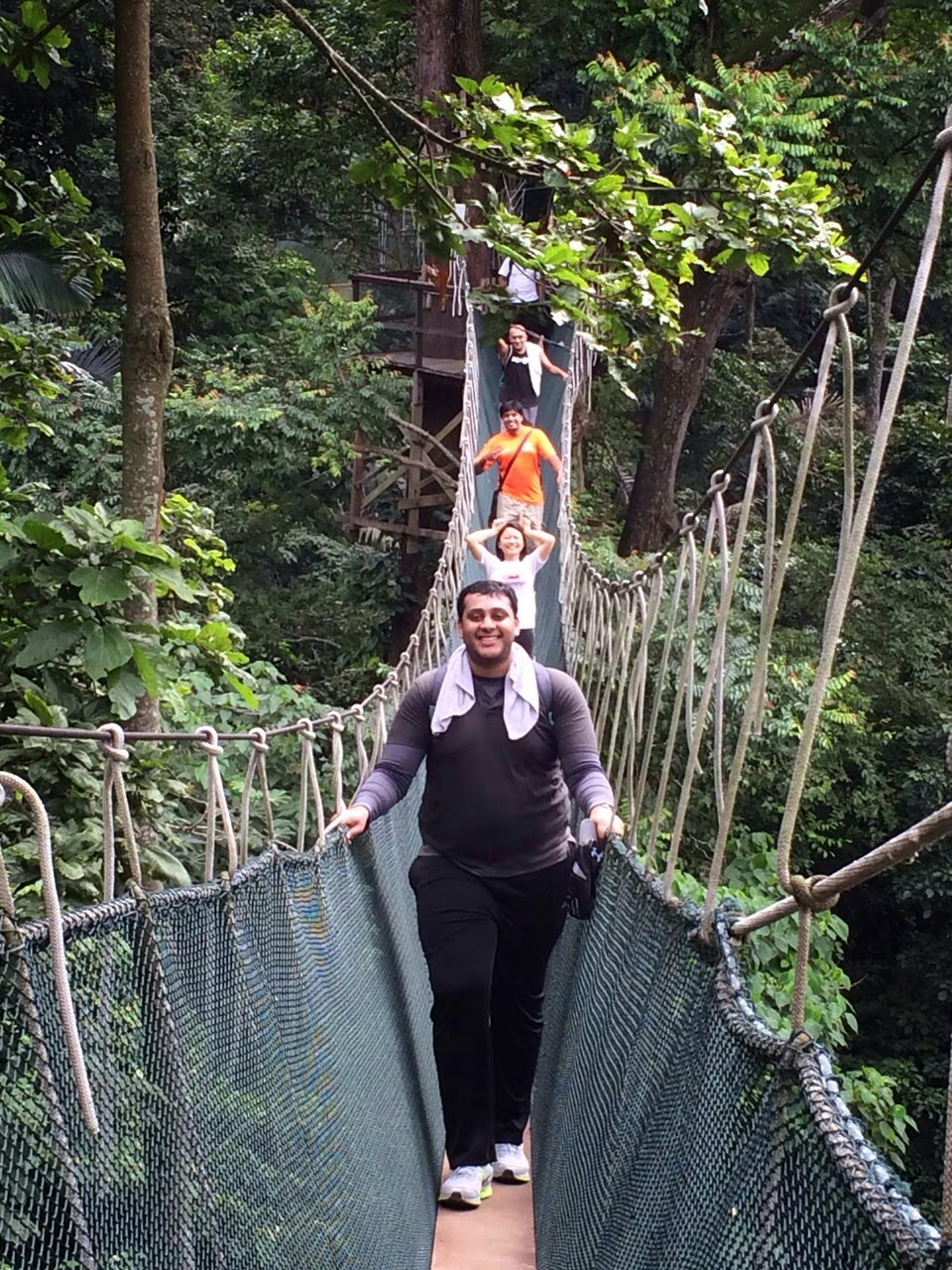 Upon completing the canopy walk we started heading back down to our starting point. Along the way we were quite fortunate to discover a waterfall which ...  sc 1 st  KL Bar Blog & The Kuala Lumpur Bar Blog | Beta: Canopy Walk at FRIM on 30 ...
