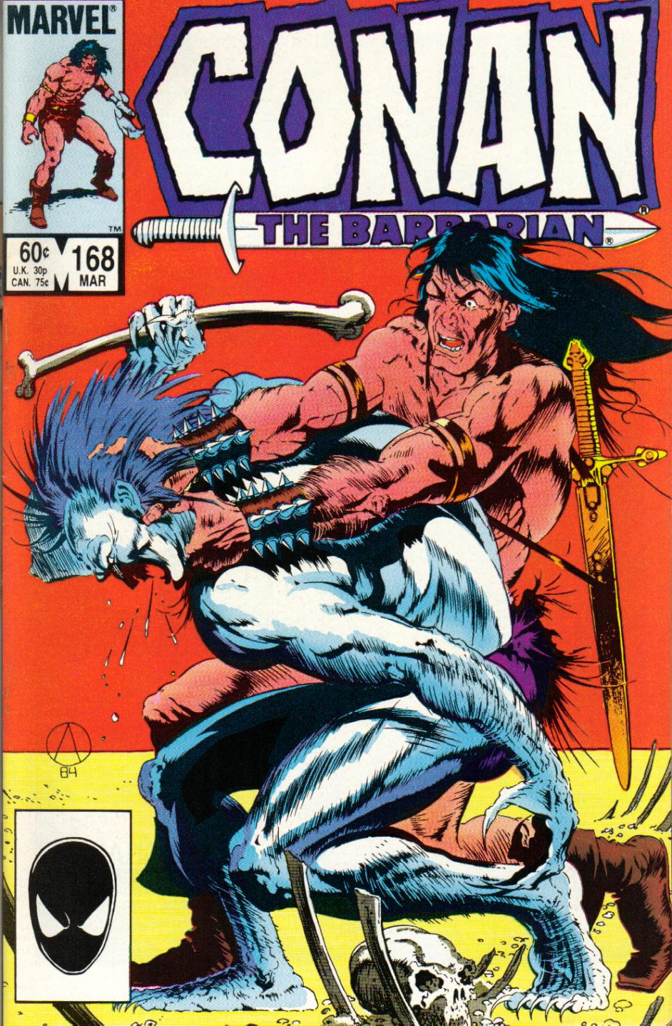 Conan the Barbarian (1970) Issue #168 #180 - English 1