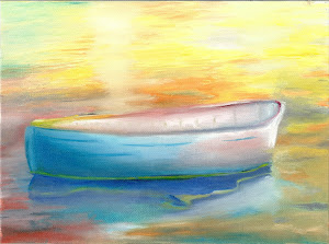 Boat Alone in Oils