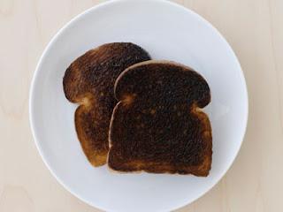 Burnt Toast Settles a Stomach Ache