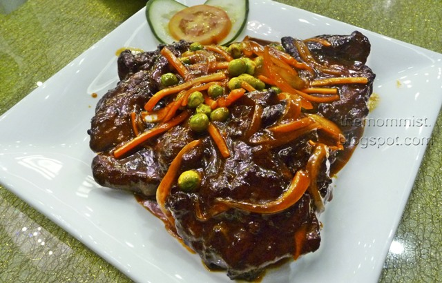 Beef tenderloin Chinese style