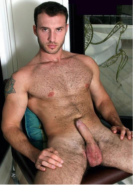 Hairy chest jock idea