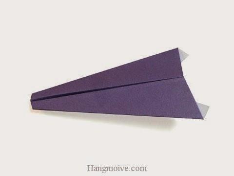 Cách gấp, xếp máy bay tiêm khích bằng giấy origami phi xa, cao, bay lâu mãi không rơi - Video hướng dẫn xếp hình máy bay - How to fold a paper airpaplane 2