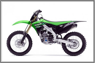 This is updated from motorcycles 2013 kawasaki KX series that improved