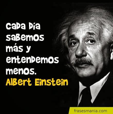FRASES DE ALBERT EINSTEIN CON IMAGENES