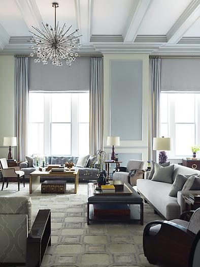 The Zhush: Steven Gambrel's Converted Ballroom Grandeur