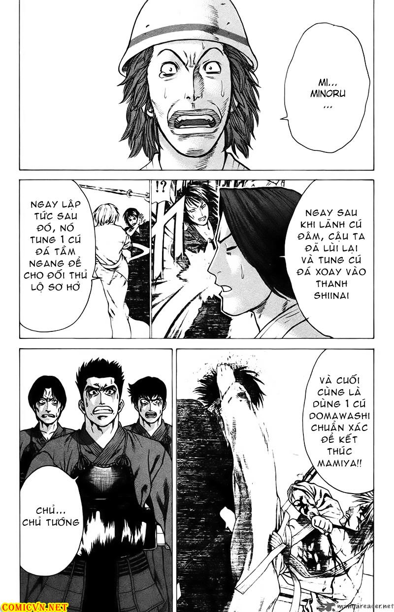 Karate Shoukoushi Kohinata Minoru chap 26 Trang 8