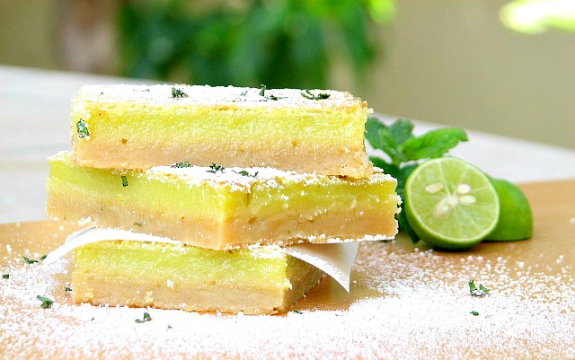 Fantastic Key Lime Bars in a Butter Crust