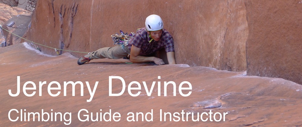 Jeremy Devine - Climbing Guide and Instructor