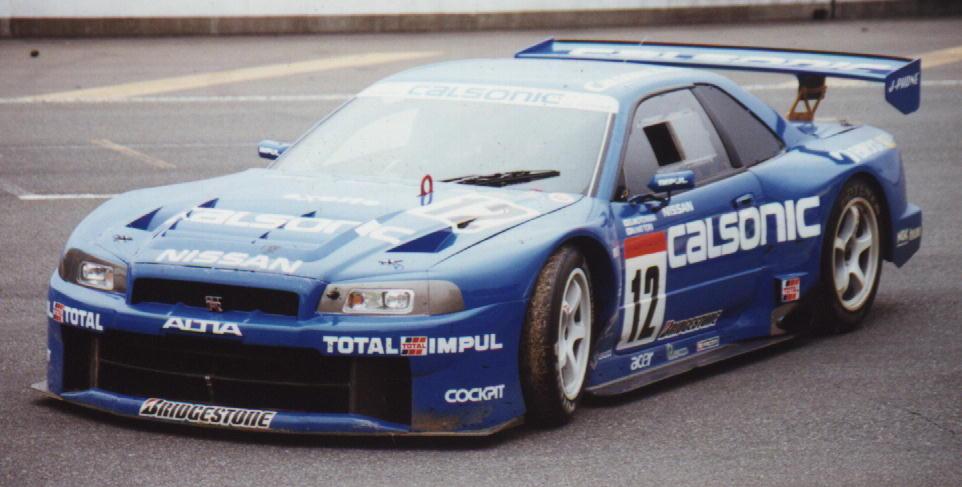 Nissan Skyline R34, JGTC, wyścigi, sportowe samochody