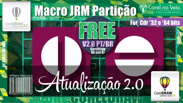Atualização da Macro Macro JRM Partição 2.0 BR - CorelDraw
