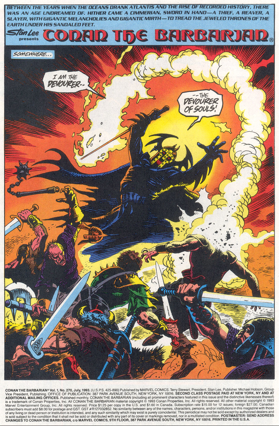 Conan the Barbarian (1970) Issue #270 #282 - English 2