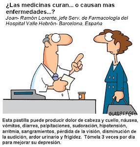 MEDICINAS ¿CURAN O CAUSAN ENFERMEDAD?
